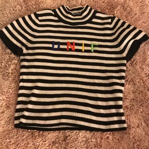 Unif size medium crop top Rare